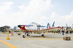 Trek Muang Airshow 2013 aan royalty-vrije stock foto's