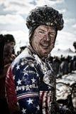 Trek Myrah aan - 2013 Kampioenschappen van de Wereld Cyclocross Stock Afbeelding