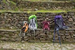 Trek at Sagarmatha National Park. Himalayas, Nepal Royalty Free Stock Images