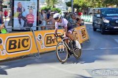Trek Tijd Proeftt Ruiter Stock Fotografie
