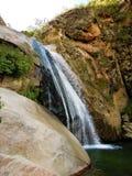 Trek van Cascadas del Rio Colorado stock afbeelding