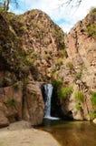 Trek van Cascadas del Rio Colorado royalty-vrije stock fotografie