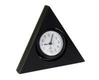 trekantig klocka Fotografering för Bildbyråer