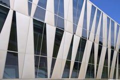trekantiga fönster Royaltyfri Bild