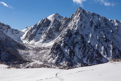 Treking в Тибете Стоковая Фотография RF