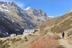 Treking Annapurna area, Nepal Royalty Free Stock Photography