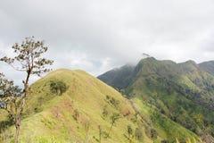 Treking berg Arkivbild