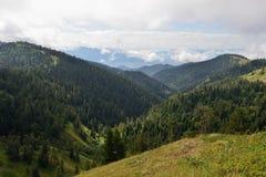 Treking para Lesser Caucasus imagen de archivo libre de regalías