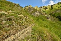 Treking para Lesser Caucasus imágenes de archivo libres de regalías