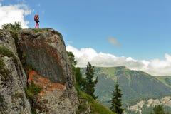 Treking para Lesser Caucasus foto de archivo