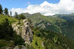 Treking para Lesser Caucasus fotografía de archivo libre de regalías