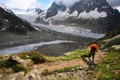 Trekker photo stock