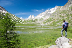 Trekker Stock Image