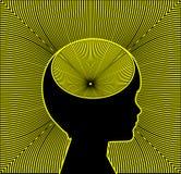 Trekker van ADHD en Epilepsie royalty-vrije illustratie