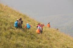 Trekkers στην Ταϊλάνδη Στοκ Φωτογραφίες
