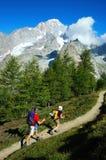 Trekkers fotografia stock libera da diritti