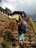 Trekkers Stock Photo
