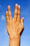 Trekkie gesture Royalty Free Stock Photos