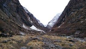 Trekking в Непале Стоковые Фото