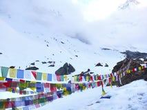 Trekking гора Annapurna на pokhara Непале Стоковое Изображение