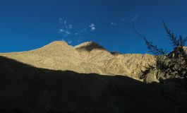 Trekking местность следа K2, ряд Karakoram, Пакистан, Азия стоковые изображения rf