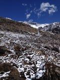 Trekking на базовом лагере Annapurna - Непале Стоковые Фотографии RF