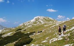 Trekking Fotografia de Stock