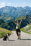 Trekking Stock Photography