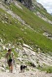 Trekking Stock Photo