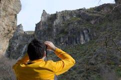 trekking стоковая фотография rf