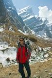 Trekking Photographie stock libre de droits