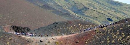 Trekking Lizenzfreie Stockbilder