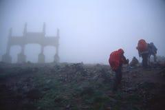 Trekking photo stock