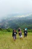 trekking stockbild