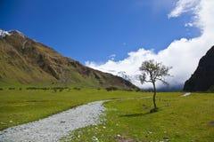 trekking fotografia stock