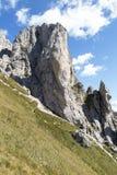 Trekking in the alps Stock Photo