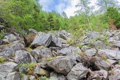 Trekking around the Three Peaks, Italian Alps Royalty Free Stock Images