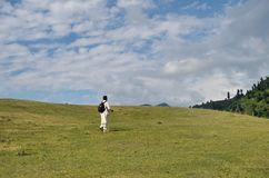 Trekking au Cachemire Photo stock