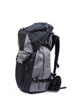 Trekking backpack on high definition isolated on a white backgro Royalty Free Stock Images