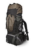 Trekking backpack isolated Royalty Free Stock Photography