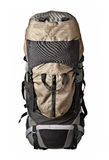 Trekking backpack isolated Stock Photo