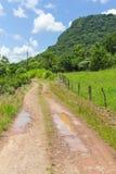 Trekking bei Malakoff in Nova Petropolis - Rio Grande do Sul - Br Stockfoto