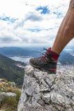 Trekking boot Stock Images