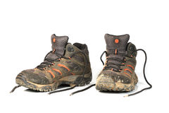 Trekking boots Royalty Free Stock Photography