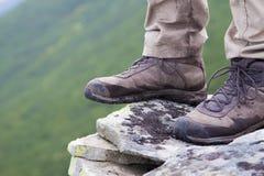 Trekking boots Stock Images