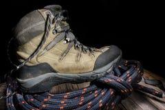 Trekking boots Royalty Free Stock Photos