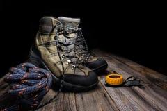 Trekking boots Stock Image