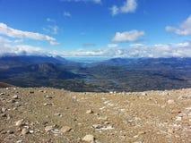 Trekking in Cerro Castillo-Bereich lizenzfreies stockbild