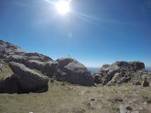 Trekking Cerro Champaqui от виллы Alpina, rdoba ³ CÃ, Аргентина Стоковое Изображение