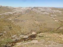 Trekking Cerro Champaqui от виллы Alpina, rdoba ³ CÃ, Аргентина Стоковое Фото